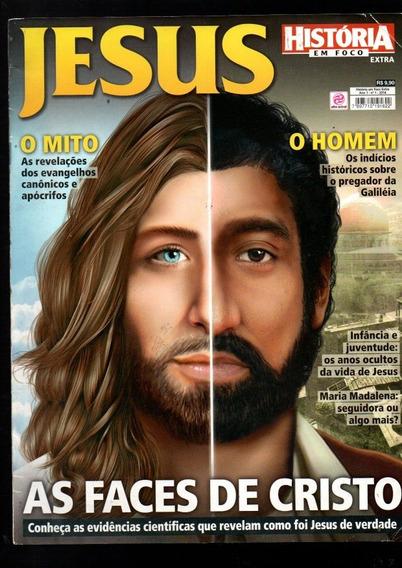 Revista História Viva Jesus As Faces De Cristo Nº 01 (603)