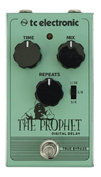 Novo Pedal Guitarra The Prophet Digital Delay Tc Electronic
