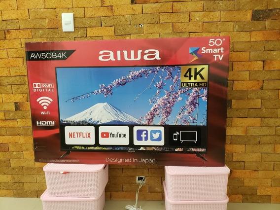 Tv Aiwa 50 Polegadas. Smart 4 K