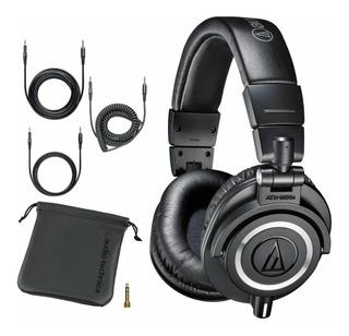 Audio Technica Ath M50x Auricular Profesional De Estudio
