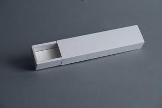 Caja Fosforera Rectangular Alargada Angosta 22 X 4,5 X 3,5 Cm (x 50 U.) +/- 9 Bombones Chocolates Accesorios - Bauletto