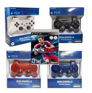 Control Ps3 Pack X 2 + Juego Fisico Original - Proplayers
