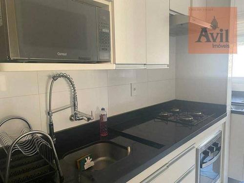 Apartamento Com 2 Dormitórios À Venda, 50 M² Por R$ 345.000,00 - Tatuapé - São Paulo/sp - Ap3074