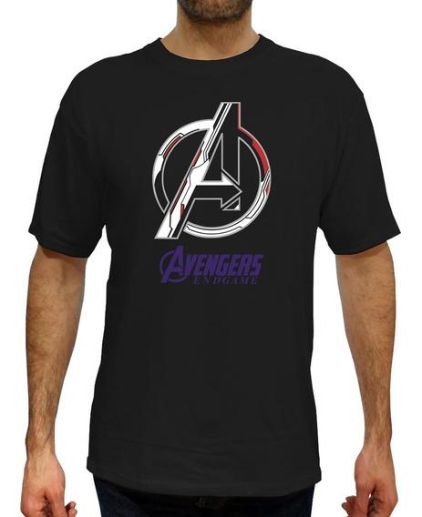 Playera Avengers Endgame - Reflejante- Envió Gratis.