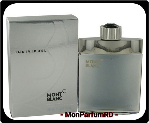 ** Perfume Montblanc Individuel. Entrega Inmediata **