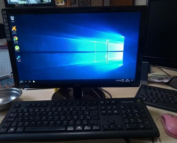 Computador De Mesa Geração Ddr2 Completo