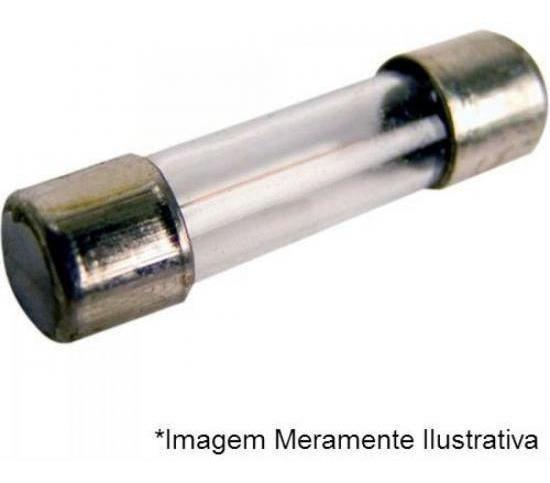 Fusível Vidro Latão 20ag Pequeno 2a Fusibras - Cx / 50