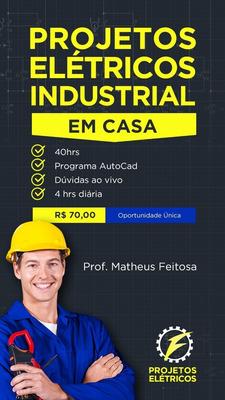 Curso De Projetos Elétricos Industriais No Autocad.
