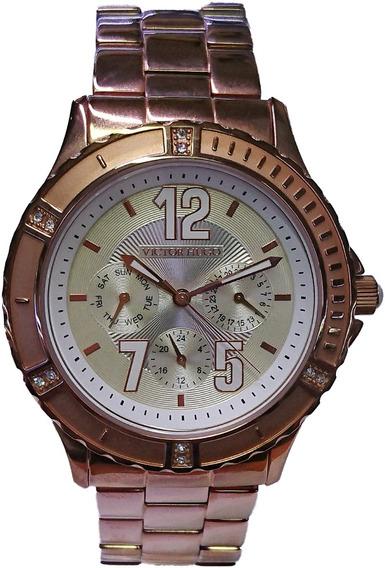 Relógio Victor Hugo Rose - 10013lsr/12m
