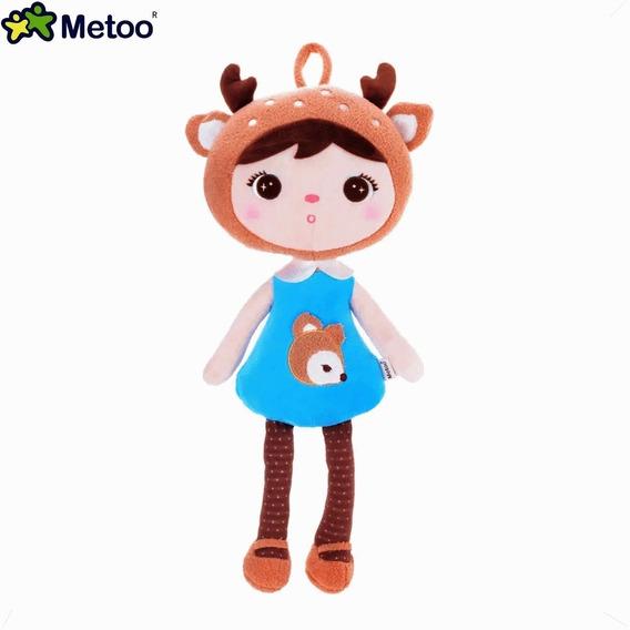 Naninha Para Bebe De Alce Pelucia Metoo Doll Original 45 Cm