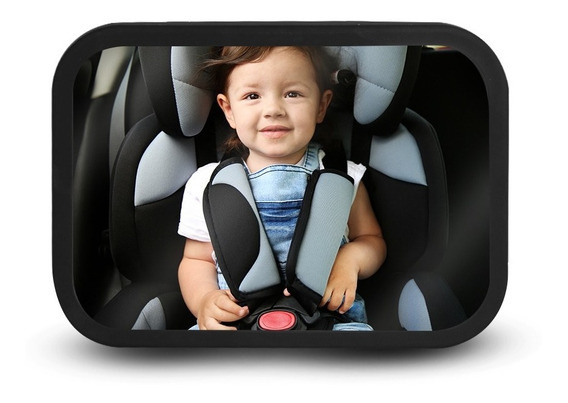 Redlemon Espejo Retrovisor De Bebé Para Auto Extra Grande