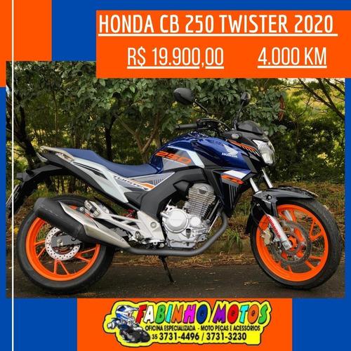 Imagem 1 de 7 de Honda Cb 250 Twister 2020 Special Edition Com Abs!!!