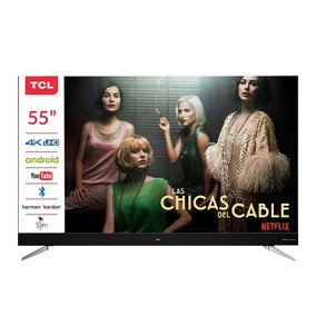 Led Tcl Android Tv 55 Pulgadas 4k Hdr 55c2 Control Voz