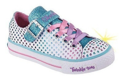 Tênis Infantil Skechers Twinkle Toes Mysticals C/ Luz Led