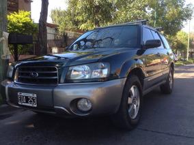 Subaru Forester 2.0x Awd Año 2004 Titular, Excelente Estado!