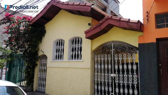 Casa Térrea Com 2 Dormitórios À Venda, 120 M² Por R$ 750.000 - Barra Funda - São Paulo/sp - Ca0717