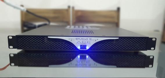 Amplificador De Potência Studio R Ace 2400w