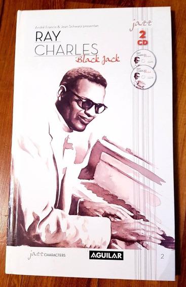 Ray Charles Black Jack 2 Cd + Libro Edicion De Lujo