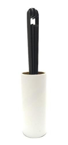 Imagem 1 de 2 de Kit C/5 Rolo Adesivo Tira Pelos Rapido E Facil Para Tecidos