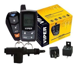 New Kit Alarma Seguridad Viper 3306v C 2 Seguros Electricos