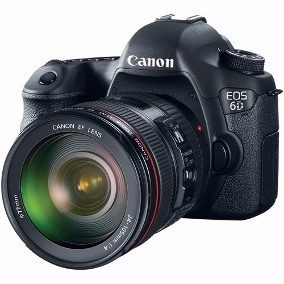 Canon 6d Seminova Full Frame - Com Grip Original