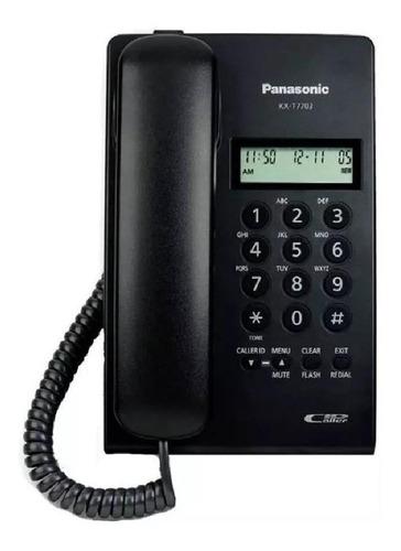 Imagen 1 de 2 de Teléfono fijo Panasonic KX-T7703 negro