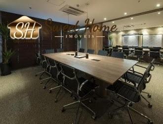 Sala Comercial 168,00 M² Pronta Para Uso -alphaville - Sh1321
