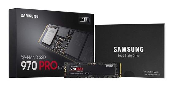 Ssd M.2 Samsung 970 Pro 1tb Pcie Gen3. X4 Nvme 1.3 V-nand