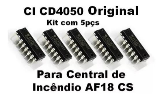 Ci Cd4050 Para Central De Incêndio Af18 Cs