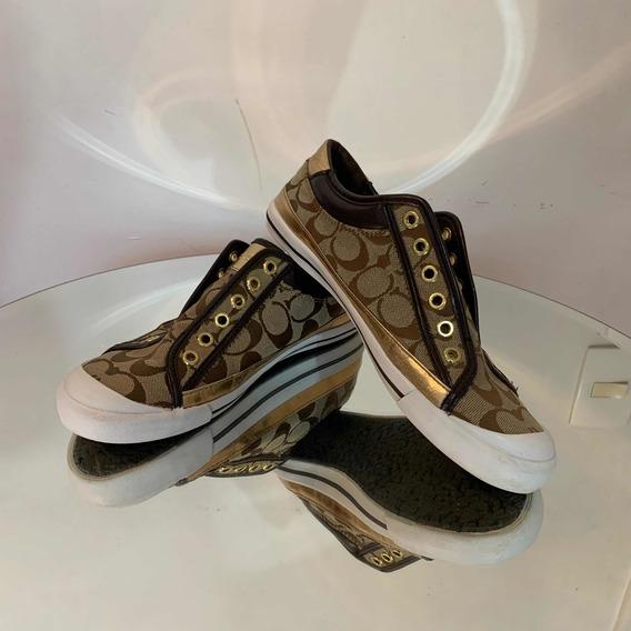Tênis Coach Sneaker Tamanho 37