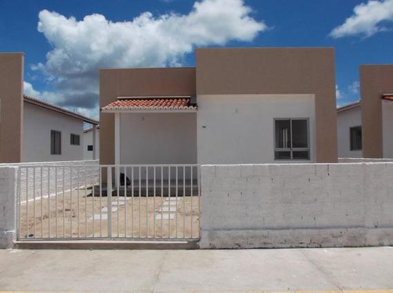 Casa Em Japecanga, Macaíba/rn De 70m² 2 Quartos À Venda Por R$ 75.000,00 - Ca413689