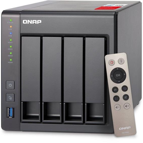 Servidor De Dados Ts-451+-8g Intel 8gb Ddr3l Qnap