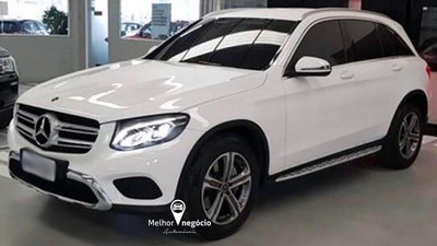 Mercedes-benz Glc-250 2.0 16v 4matic Turbo Aut. 2018 Branca