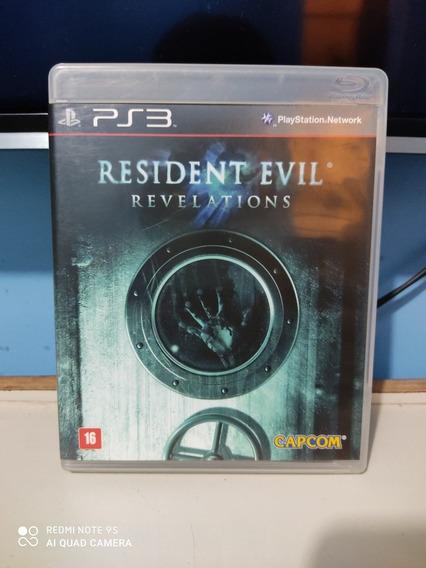 Jogo Resident Evil Revelations Para Ps3