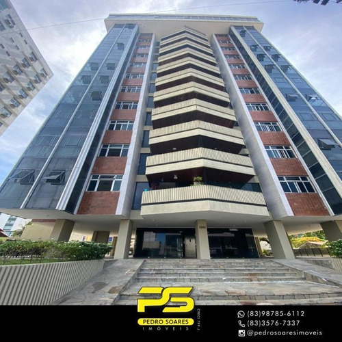 (oportunidade)  Apartamento Com 3 Dormitórios À Venda, 163 M² Por R$ 480.000 - Manaíra - João Pessoa/pb - Ap4321
