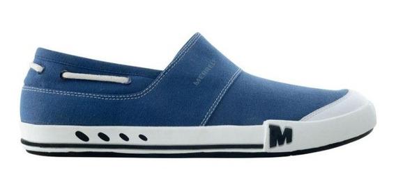 Zapatillas Merrell Panchas Nuguet Azul 150376