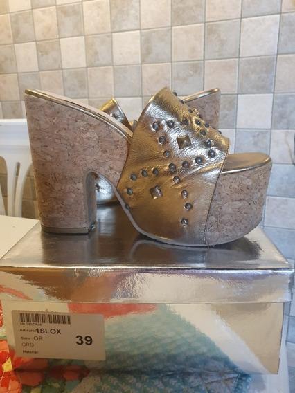 Zapatos Plataforma Ricky Sarkany 39