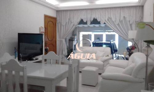 Sobrado Com 2 Dormitórios À Venda, 125 M² Por R$ 530.000,00 - Campestre - Santo André/sp - So1475