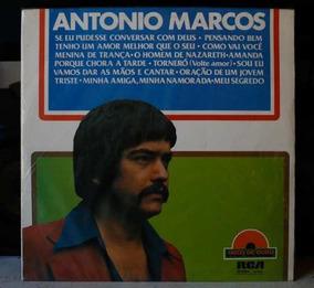 Lp Vinil - Antonio Marcos - Disco De Ouro - B370