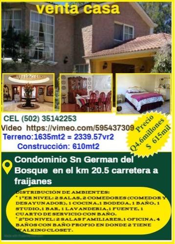 Imagen 1 de 2 de Venta De Casa En El Condominio Sn German Del Bosque En El Mu