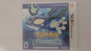 Pokemon Alpha Zapphire 3ds
