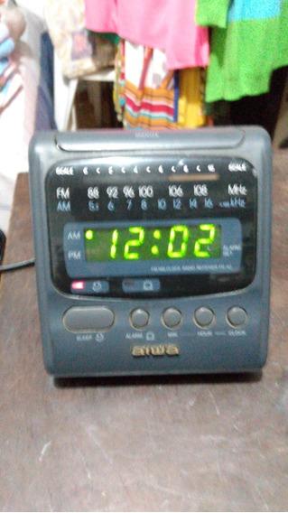 Radio Relogio Aiwa Mod Fr-a2h Funcionando