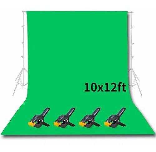 Emart Estudio Fotografico Pantalla De Fondo Verde De 10 X 12
