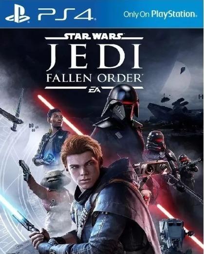 Star Wars Jedi Fallen Order Psn 1 Ps4 Mídia Digital Origina