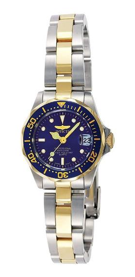Reloj Invicta 8942 Pro Diver De Acero Inox En 2 Tonos-dama