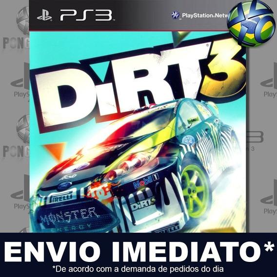 Dirt 3 Ps3 Psn Jogo Em Promoção A Pronta Entrega