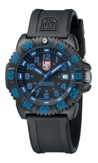 Luminox Navy Seal Colormark Azul 200m A.3053 Swiss Made