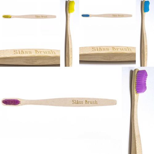 Imagen 1 de 4 de Cepillo De Dientes De Bambú X2 Medio