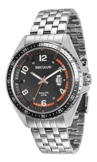 Relógio Seculus Masculino Long Life 28719g0svna1