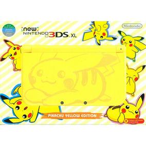 New Nintendo 3ds Xl Pikachu Yellow Edition Novo Lacrado